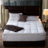 Hotel Supplier White Quilted Mattress Protector Breathable 4 Inch Mattress Topper