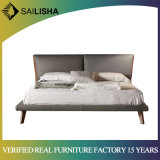 Nordic Simple Soft Genuine Leather Bed of Home Furniture Hot Selling Bedroom Furniture Set
