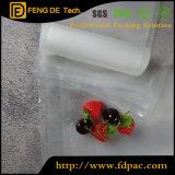 Plastic Bags Vacuum Sealable Heat Seal Clear Nylon Lamination Plastic Food Packing Vacuum Storage Bags