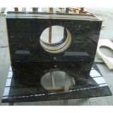 Domestic Customized Green Marble Vanity Tops for Bathroom