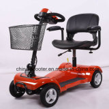 Four Wheels Foldable Electric Mobility Scooter for Old People or Disabled People