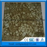 Interior Decoration Glass Laminated Glass Panel with Silk Interlayer