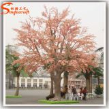 China Factory Direct Artificial Pink Cherry Tree for Garden Decoration