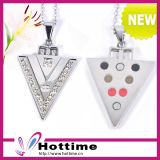 Triangle Shap Classic Scalar Stainless Steel Pendant