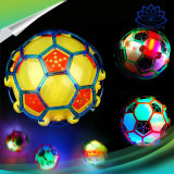 Electric Dancing Football Flashing Music Children Toy Glow Football Christmas LED Light Toy for Kids Gifts