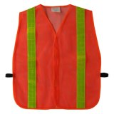 Mesh Fabric Safety Vest with PVC Tape