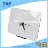 Rectangular Fillet MDF Clock for Sublimation