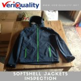 Softshell Jackets Inspection Service and Quality Control at Lean, Jiangxi