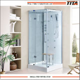 2016 Square Design Shower Stall with Acrylic Back Panel Ts9009