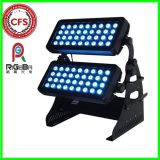 Outdoor Stage High Power 72LEDs 8W RGBW 4in1 LED Wall Washer City Color Light
