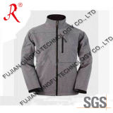 Men′s Softshell Jacket Top Fleece Jacket (QF-474)
