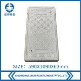 590X1090mm FRP Composite Telecom Manhole Cover with Frame