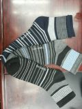 New Fashion Men′s Socks with Pattern Stripes Designs