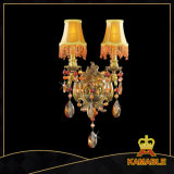 European Glittering Hotel Crystal Wall Lamp (MB0702-2)