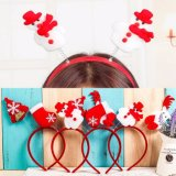 Wholesale Cute Cheap Christmas Headband Kids Hair Accessories Set