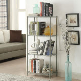 3/4/5 Tier Powder Coated Household Adjustable Steel Wire Metal Rack Shelf Storage Unit