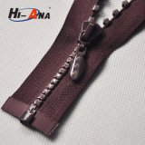 Hot Products Custom Design Ningbo Metal Rhinestone Zipper