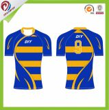 Wholesale Cheap Custom Good Quality blue China Factory Design Rugby Uniform Suit