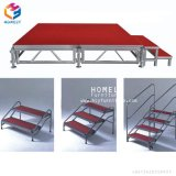 Steel Foldable Mobile Dance Stage for Outdoor Party Banquet Hotel