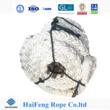 8 Strand 70mm High Density Snow White Atactic Polypropylene Anchor Rope