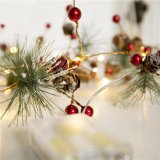 Home Decor Merry Christmas Happy New Year Lighting Decoration Holiday Pine Tree Lighting