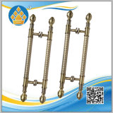 Stainless Steel H Finished Golden Color Handle in Home Hotel Bathroom Glass Door
