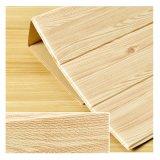 Best Value Wooden Grain Waterproof Removeable Foam Wallpaper PE Foam Self Adhesive Wall Stick