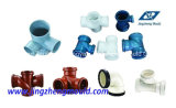 PVC Injection Collapsible Core Plastic Pipe Fitting Mould (JZ-P-C-03-021-A)