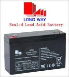 6V9ah Security Equipment Rechargeable Sealed Lead-Acid Battery