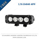 "Lmusonu off Road LED Flood Lights High Power 12V 4X4 Small 8"" 40W Light LED Bar Single Row Motorcycle Accessories"