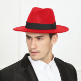 Major Wear Unisex 100% Wool Hand Made Felt Fedora Trilby Hat with Band