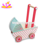 Wholesale Educational Toys Wooden Push Cart for Baby W16e081