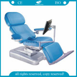 AG-Xd107 Hot Sale Hospital Instrument 3- Function Blood Donation Chair Price