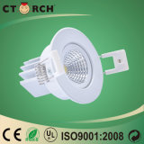 16W COB LED Downlight with AC100~ 240V LED Down Light