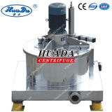 Paut Scraper Bottom Discharge Centrifuge Machine with Top Mounted Motor