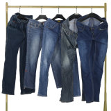 Grade a Used Clothes Second Hand Clothing Men′s Jeans Pants