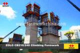 Zolo CB210/240 Crane Lifted All-Round Climbing Formwork
