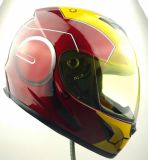 Ironman Design Helmet for Motorcycle