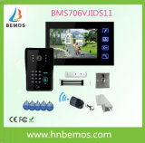 Touch Screen 7 Inches Home Security Interphone Video Door Phone Doorbell with Remote Controller