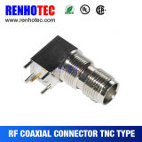 Right Angle TNC Connector for PCB Board Connector