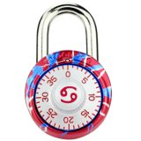 Cancers Combination Padlock for Cupboard