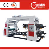 High Speed Four Color Plastic Film Shopping Bag Flexo Printing Press with Good Price