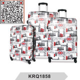 PC London Bus Printing Travel Trolley Luggage Suitcase