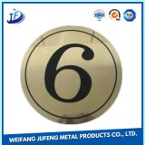 OEM Precision Metal Fabrication Steel Turning Stamping Markplate/Metal Tag/Name Plate