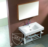 Cupc Approval Rectangular Ceramic Cabinet Wash Basin (SN1538-60)