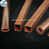 Brass Square Rectangular Pipe / Copper Tube Square Rectangular Pipe Price Per Kg