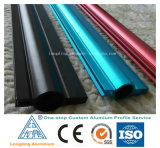 Aluminum Structural Shapes with Bright Colors