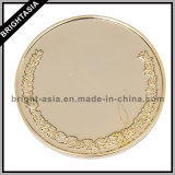 Wholesale Custom Market High Quality Gold-Plating Coin (BYH-101101)