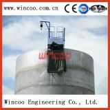Automatic welding machine for tank construction
