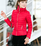 2015 Cheap Wholesale Winter Warm Women′s Down Jacket Plus Size